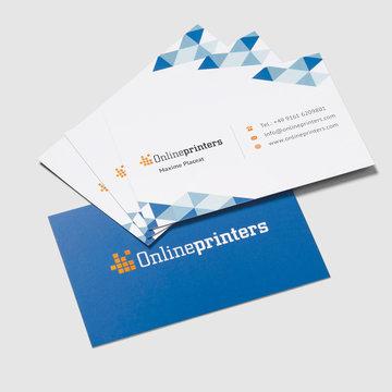 Visitenkarten Drucken Quadratisch Beidseitig Onlineprinters