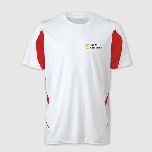 weiß / rot